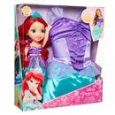 Princesas-Disney-Ariel-Disfraz-con-Muñeca-Toddler