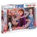 Frozen-2-Puzzle-104-Piezas-Glitter