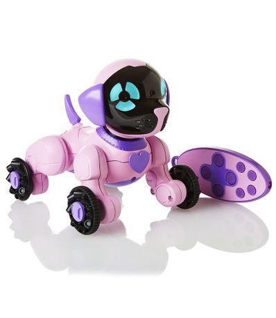 Chien-Robotique-Chippies-Rosa