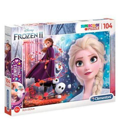 Frozen-2-Puzzle-104-Pecas-com-Joias