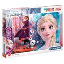 Frozen-2-Puzzle-104-pieces-avec-des-bijoux