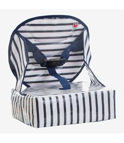Chaise-haute-Easy-haute-bleue