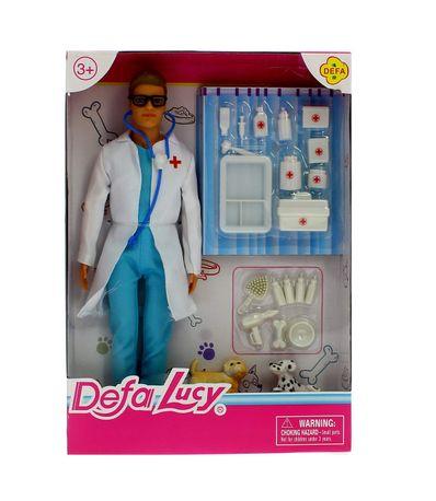Boneca-Veterinaria-Defa-Lucy