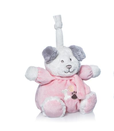 Filhote-de-cachorro-Tomy-musical-rosa