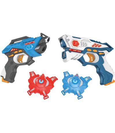 Set-de-Batalla-Pistolas-Laser-con-Chalecos