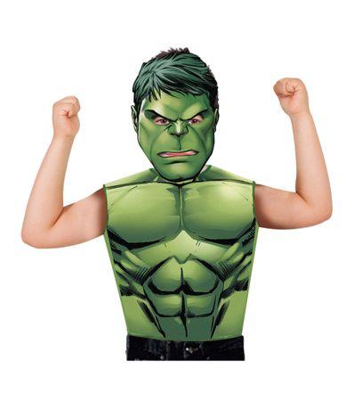 Los-Vengadores-Hulk-Camiseta-y-Mascara-Partytime