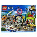 Lego-City-Inauguracao-da-Donuts-Store