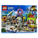 Lego-City-Inauguration-du-Donuts-Store