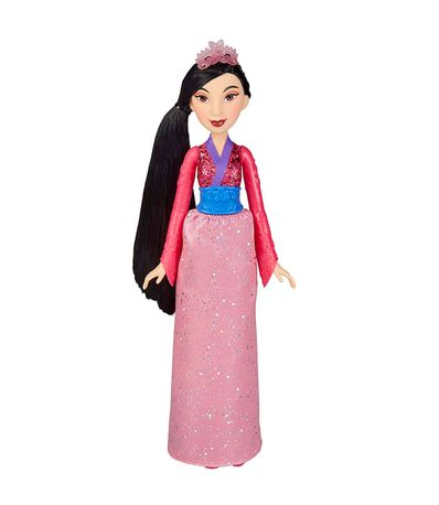 Princesas-Disney-Muñeca-Brillo-Mulan