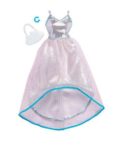 Barbie-Moda-Vestido-de-Gala-Plateado