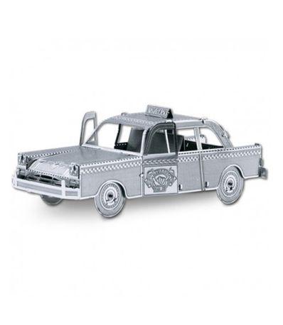 Modelo-de-Metal-de-um-Taxi-Americano