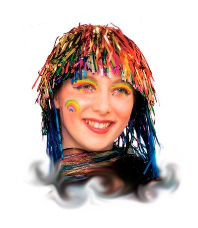 Perruque-Multicolore-Metallisee