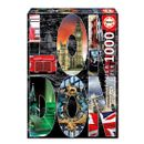 Puzzle-Collage-de-Londres-de-1000-Piezas