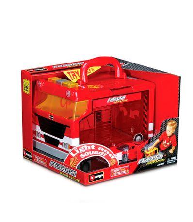 Coche-Miniatura-Ferrari-Cube-Playset-Escala-1-24