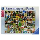 Puzzle-99-Divertidos-Animales-de-1000-Piezas