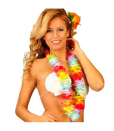 Acessorio-Carnaval-Havaiano-Colar-Multicolor