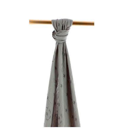 Etoiles-Bamboo-mousselines-120x120-Gris