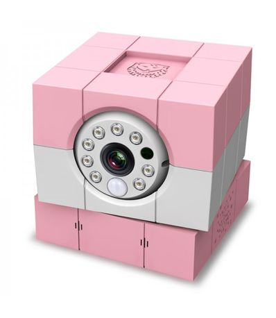 Camara-Vigilabebe-iBaby-Plus-HD-Rosa