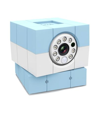 Camera-Plus-HD-babyphone-Bleu-iBaby