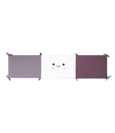 Protecteur-pour-berceau-60-70-Boo-Violet