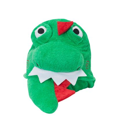 Serviette-garcon-a-capuche-Dinosaure