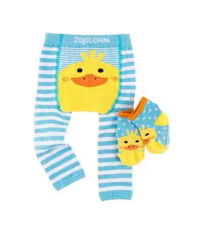 Chaussettes-Leggin---Duck-12-18-mois