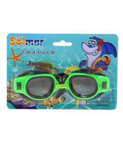 Oculos-de-Natacao-Junior-Verde