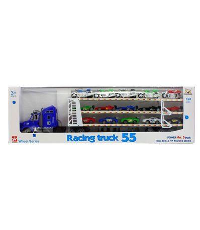 Camion-de-Transporte-de-Coches-Azul