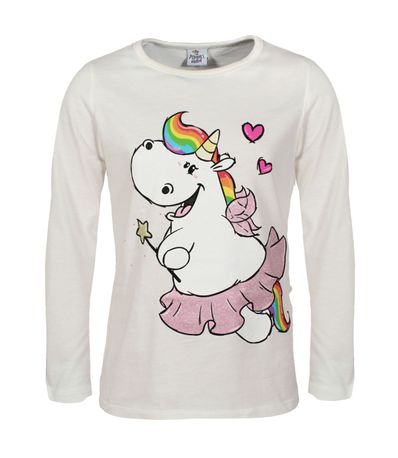 Unicorn-Pummel-T-Shirt-Size-4-anos