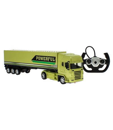Green-RC-puissant-camion