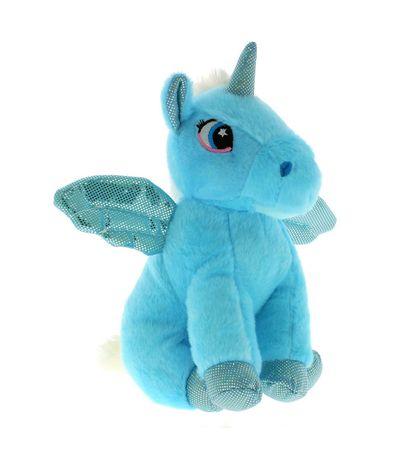 Peluche-Licorne-Bleue-25-cm