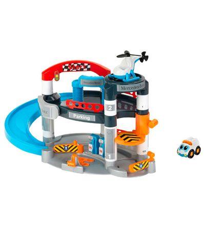 Garaje-Infantil-Mercedes-Benz