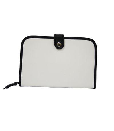 Porta-documentos-Polipiel-Branco-e-Negro