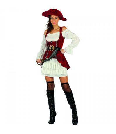 Costume-Pirate-Femme-Rouge