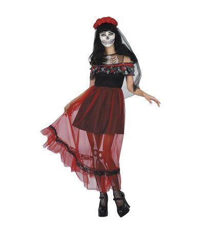 Disfraz-Muerte-Mujer
