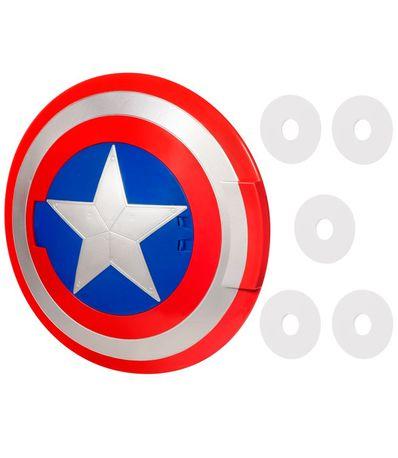 Los-Vengadores-Capitan-America-Escudo-Lanzador