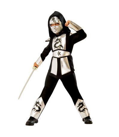 Tamanho-do-traje-de-prata-do-dragao-Ninja-3-4-anos