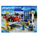 Oficina-de-carros-da-vida-urbana-da-Playmobil