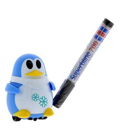 Robot-pingouin-suivre-les-lignes