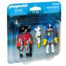 Playmobil-Duo-Pack-Policia-del-Espacio-y-Ladron
