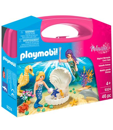 Playmobil-Princess-Briefcase-Grandes-Sereias