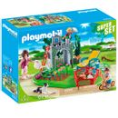 Familia-SuperSet-da-Playmobil-Country-no-jardim