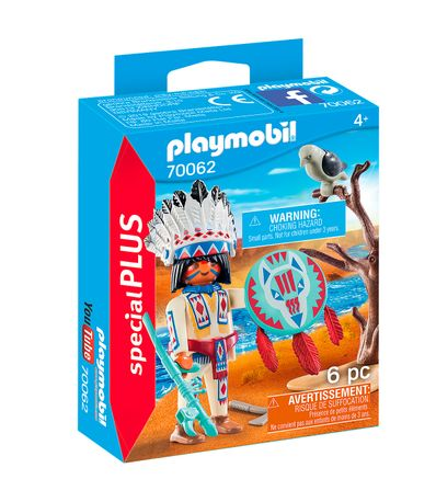 Playmobil-Special-Plus-Chefe-Nativo-Americano