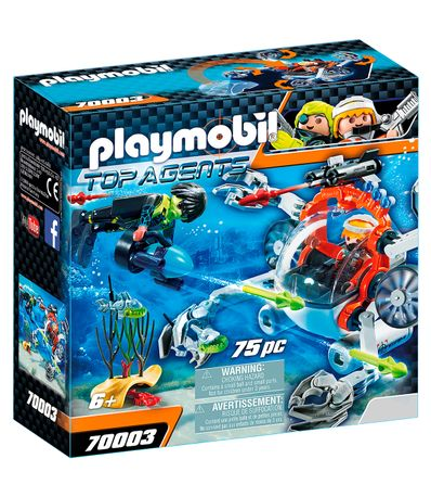 Playmobil-Top-Agents-SPY-TEAM-Sub-Bot