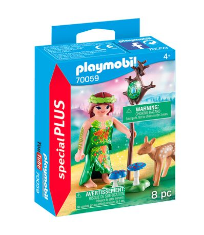 Playmobil-Special-Plus-Fawn-avec-Fawn