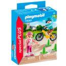 Playmobil-Special-Plus-Enfants-avec-velo-et-patins