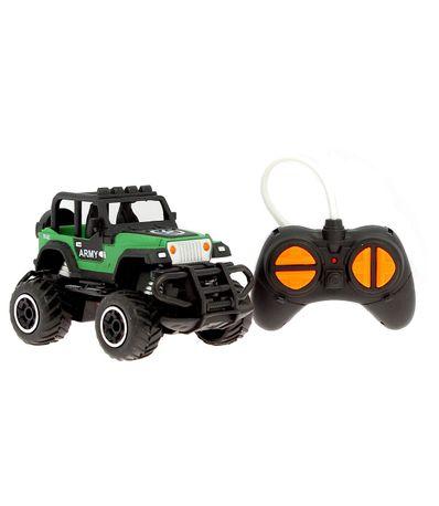 Mini-Camion-Monstruo-Militar-o-Policia-R-C-1-43