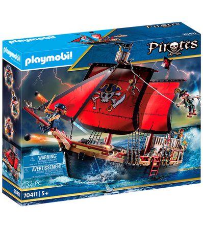 Playmobil-Pirates-Barco-Pirata-Calavera