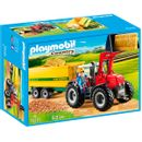 Playmobil-Country-Tractor-con-Remolque