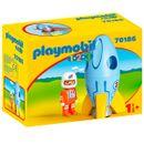 Playmobil-123-Astronauta-con-Cohete